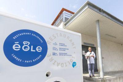 Livraison de repas - Éole, restaurant solidaire